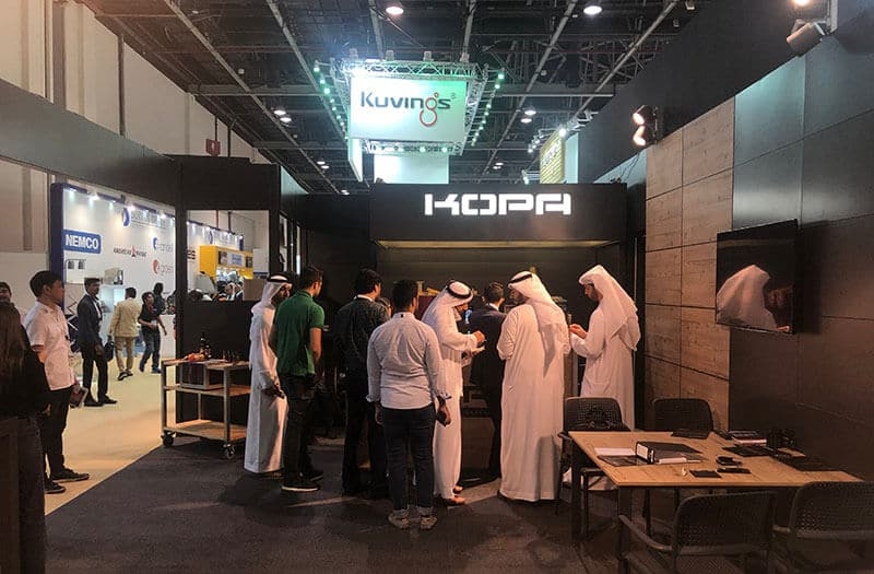 Kopa grilling solutions at Dubai