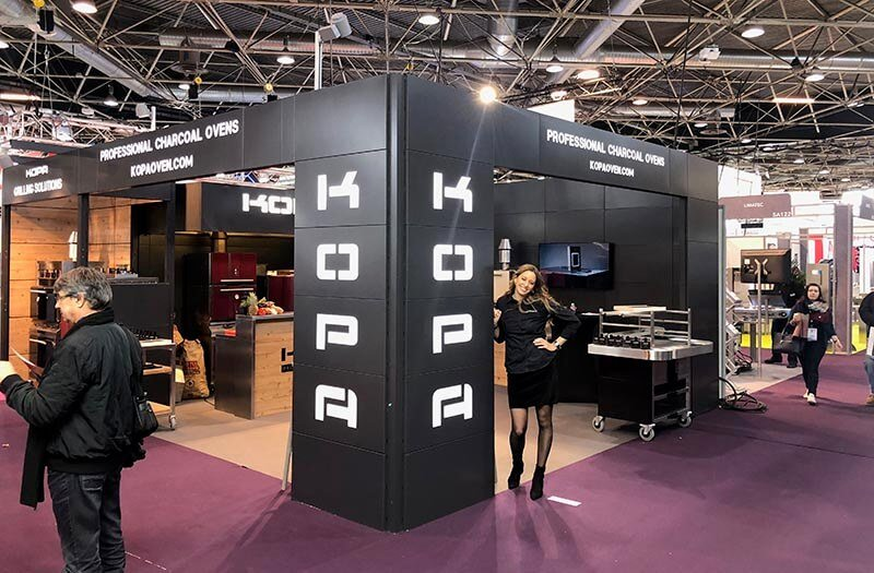 Kopa at exhibition in Singapore