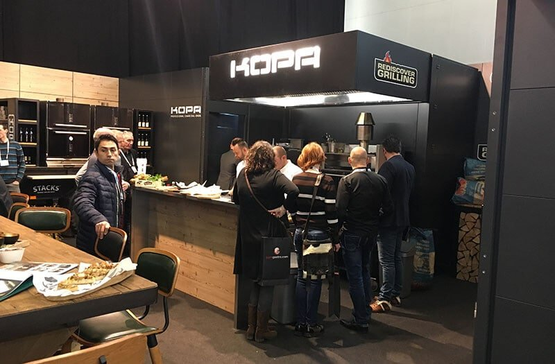 Kopa at exhibition at Milano