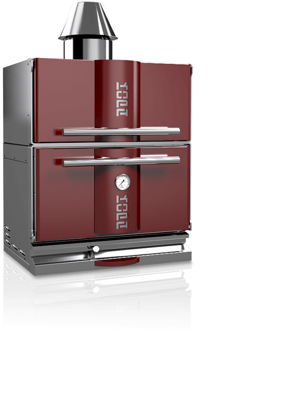 charcoal oven 300C red