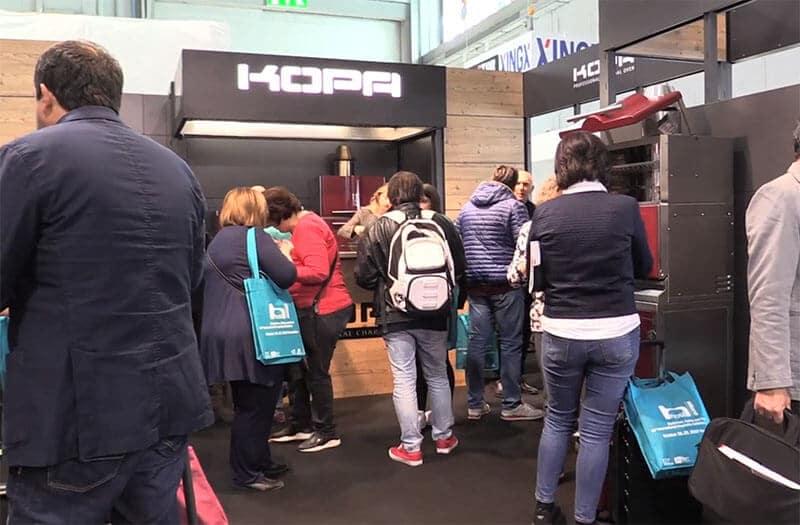 Kopa at exhibition at Milano